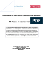 ITIL Process Assessment Framework - MacDonald