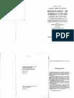 Cappelli Dizionario Di Abbreviature Latine & Italiane