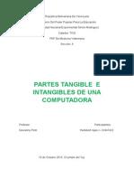 GLOSARIO DE PARTES TANGIBLES E INTANGIBLES DE UNA COMPUTADORA