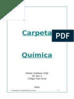 Carpeta Quimica