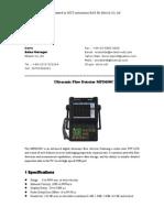 Flaw DetectorMFD650C