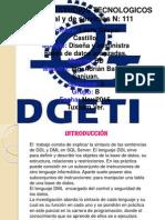 Mapa Mental Sintaxis de Lenguajes de Ddl y Dml2