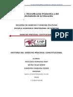 historia del derecho procesal constitucional