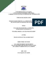 Plan de Negocio Pulsera Medica