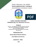 Auditoria Financiera - Balota 11