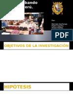 Contrabando en El Peru