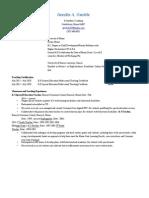 resume for practicum