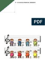 Tarea Nº4 - Escala Musical (Kodaly)