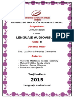 Lenguaje Audiovisual Informe