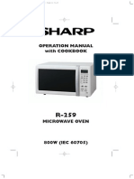 Microwave Sharp R259M14