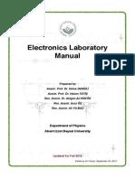 LAB MANUAL BASIC ELECTRONICS