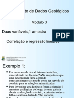 Estatística aplicada a geologia