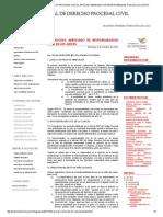 EL PROCESO ABREVIADO DE RESPONSABILIDAD CIVIL DE LOS JUECES