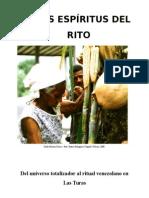 LOS ESPÍRITUS DEL RITO Ender Rodríguez, Fidel leal y José Millet (En proceso de publicación)