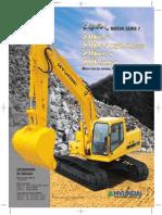 Manual Excavadora HYUNDAI