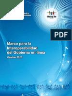 Marco para la Interoperabilidad 2010