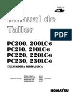 Shop Manual Komatsu PC200