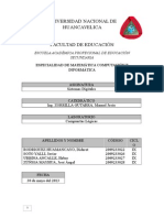 Informe de Sistemas Digitales