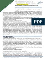 Anexo II - Conteúdo Programático e Sugestão Bibliográfica