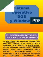 El Sistema Operativo Ms-dos y Evolución Histórica