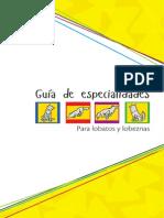 Guía de Especialidades de Manada 2015