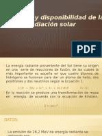 Naturaleza y Disponibilidad de La Radiación Solar