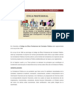 Código de Ética Profesional Colombiano