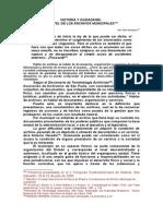 Historia y Ciudadania El Papael de Los Archivos Municipales