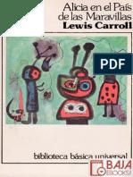 Alicia en El Pais de Las Maravillas - Lewis Caroll
