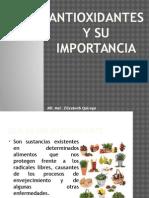antioxidantes y su importancia