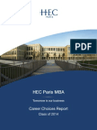 Placement Report Class 2014