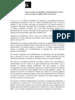 Geopolítica, multilateralismo y Estados Unidos en America Latina