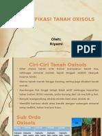 KLASIFIKASI TANAH OXISOLS
