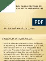 Valoración Del Daño Corporal en Víctimas de Violencia