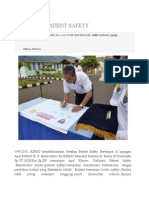 Deklarasi Patient Safety