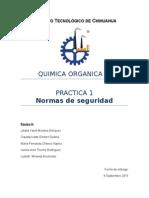 Practica 1 Organic A