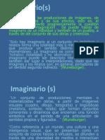 Definiciones Imaginarios