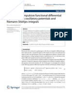 Advances in Difference Equations Volume 2012 Issue 1 2012 [Doi 10.1186_1687-1847-2012-175] Zhi Liu, Yuangong Sun -- Oscillation of Impulsive Functional Differential Equations With Oscillatory Potent