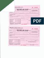 Recibos de Pago II Parte y Liquidación 21-4-2014