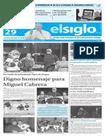 Edicion Impresa El Siglo 29-11-2015