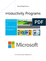 3 Productivity Programs