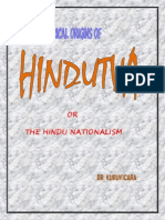 Historical Origins of Hindutva
