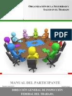 Manual- Organización de La Seguridad y Salud en El Trabajo 15 Junio 2015