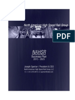 NAHSR Business Plan MNDOT