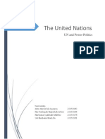 UN Power Politics.