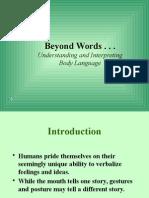 Understanding and Interpreting Body Language