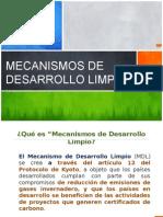 Mecanismos de Desarrollo Limpio