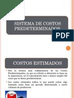 Sistemas de los Costos Predetarminados