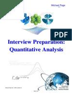 Interview Prep for Junior Quants PG