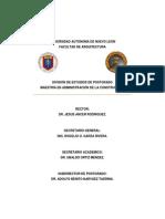 MODELO PARA LA EVALUACION DE PROYECTOS DE INVERSION EN LA EMPRESA CONSTRUCTORA GRANDE EN EL AREA METROPOLITANA DE MONTERREY.